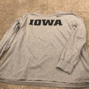 Nike Iowa Hawkeye long sleeve shirt